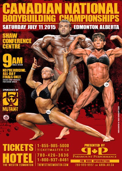 2015 Canadian National Bodybuilding Championships