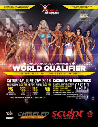 2016 IFBB International Events Qualifier