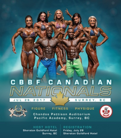 2017 Figure, Fitness and Physique Canadian Nationals
