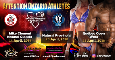 Ontario Athletes: Qualification Opportunities for 2018 CBBF Events
