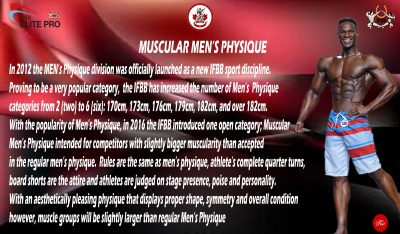 New Class – Men's Muscular Physique