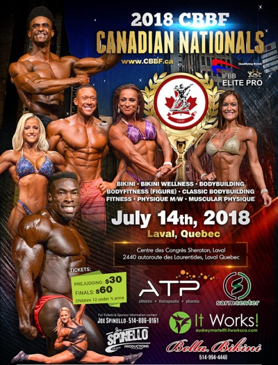 2018 CBBF Canadian Nationals (All categories)