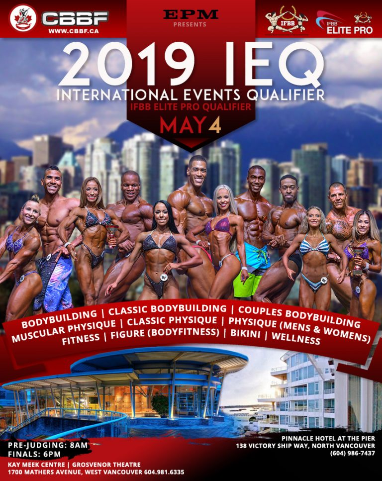 2019 CBBF IEQ Date & Location Announced