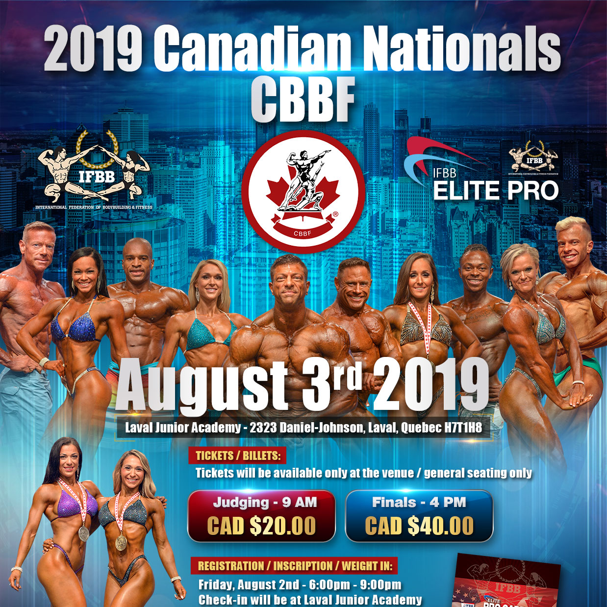 2019 CBBF Canadian National Championships