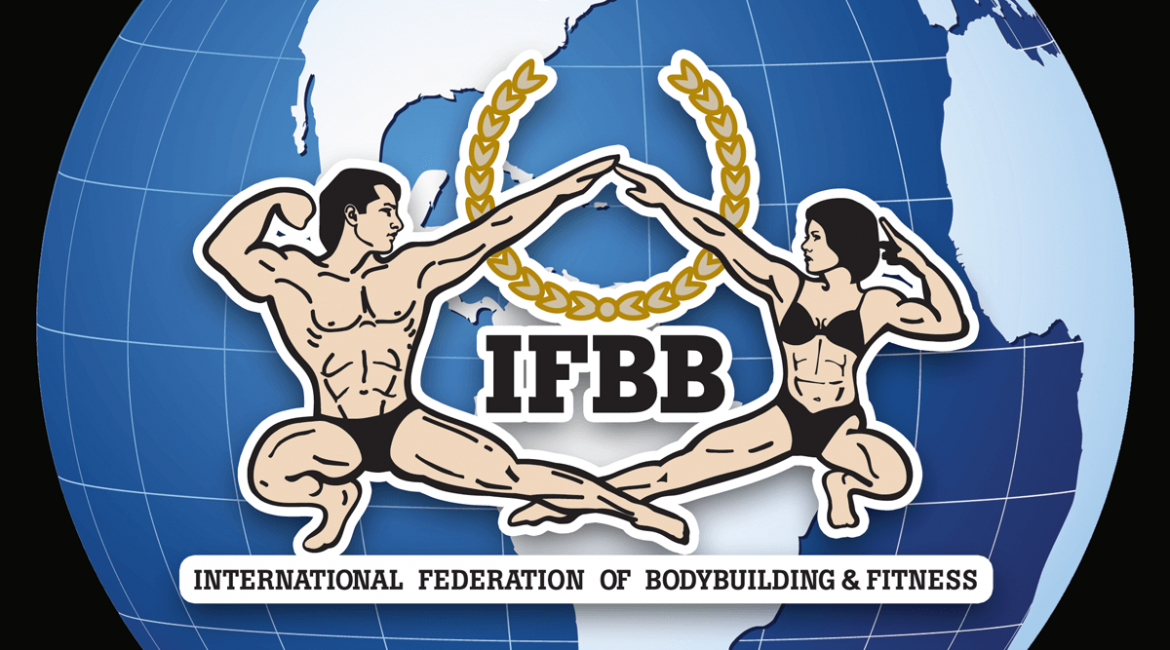 IFBB Blue world globe